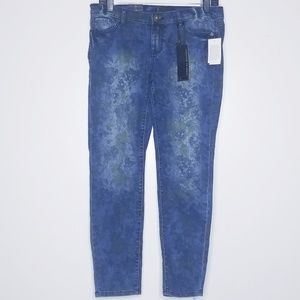 i Jeans by Buffalo Floral Ankle Grazer